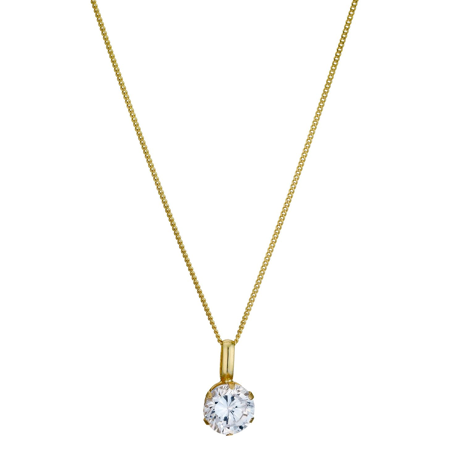 necklace barrel sparklingjewellery com zirconia gold cubic designer products rose