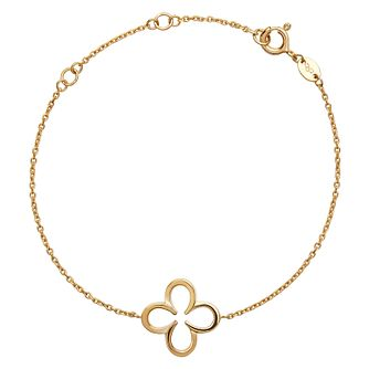 Links of London Ascot Yellow Gold Vermeil Clover Bracelet - Product number 8975132