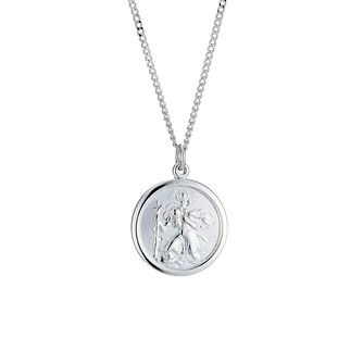 Silver St. Christopher pendant - Product number 8993297
