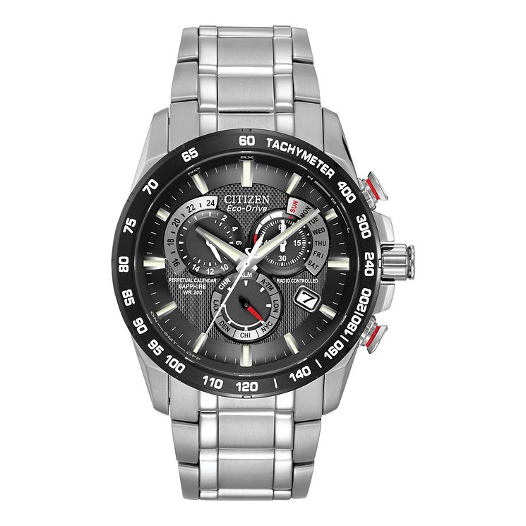 Citizen Eco-Drive Men's Stainless Steel Bracelet Watch - Product number 8997713
