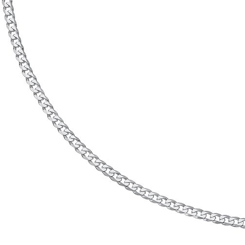 "20"" Silver Flat Curb Chain - Product number 9001689"