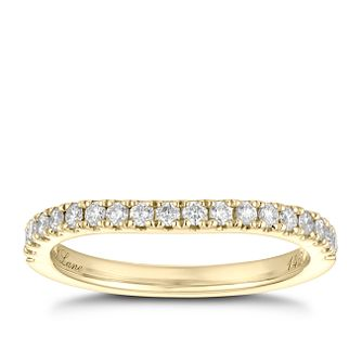 Neil Lane 14ct Yellow Gold 0.28ct Diamond Band - Product number 9004203