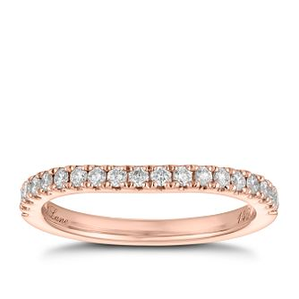 Neil Lane 14ct Rose Gold 0.28ct Diamond Band - Product number 9004335