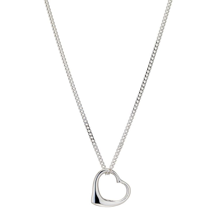 Silver Mini Heart Pendant - Product number 9005676