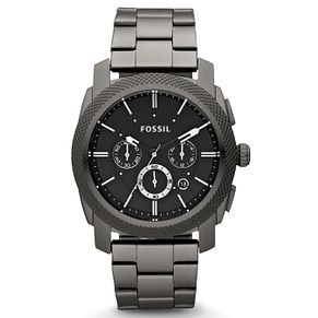 Fossil Men's Black Stainless Steel Bracelet Watch - Product number 9006710