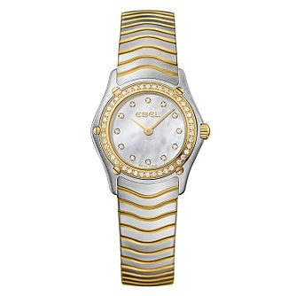 Ebel ladies two colour bracelet watch - Product number 9009914