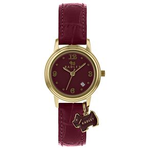 Radley Ladies' Leather Purple Strap Watch - Product number 9013334