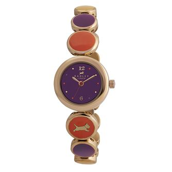 Radley ladies' purple & orange adjustable watch - Product number 9013733