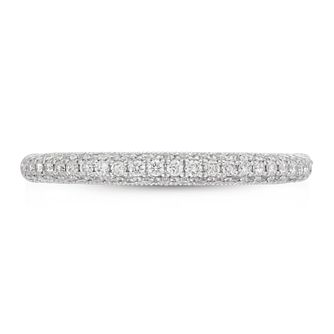 Neil Lane Platinum 0.37ct Diamond Wedding Band - Product number 9015183