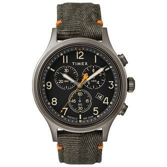Timex Allied Chronograph Men's Green Strap Watch - Product number 9017488