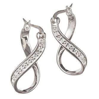 Chamilia - Chamilia Cubic Zirconia Infinity Earrings - Product number 9024336