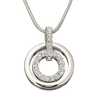 Swarovski double circle pendant - Product number 9025421