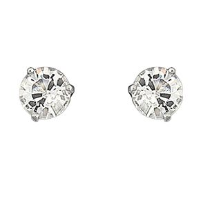 Swarovski crystal solitaire stud earrings - Product number 9025553