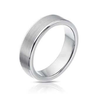 Tungsten two tone polished edge ring - Product number 9029419