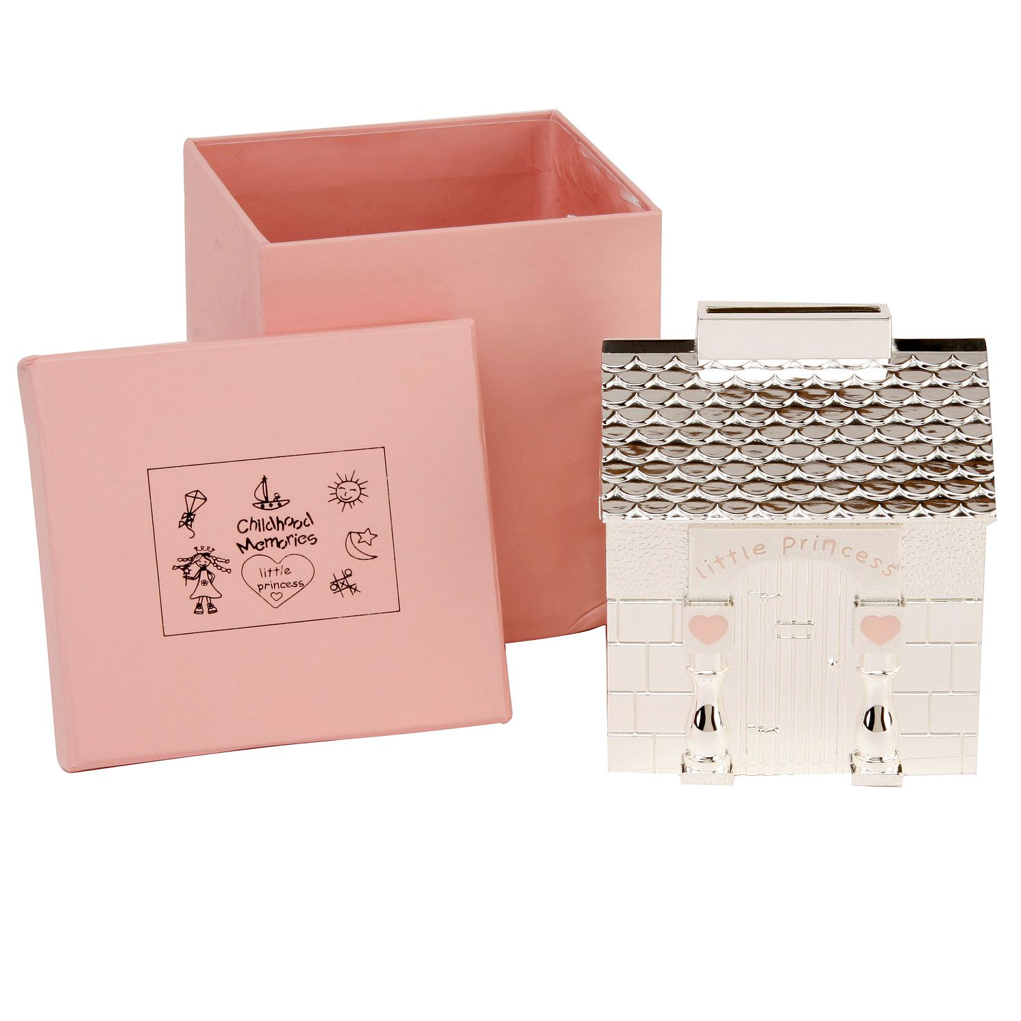Little Princess Exclusive Wendy House Moneybox | H.Samuel