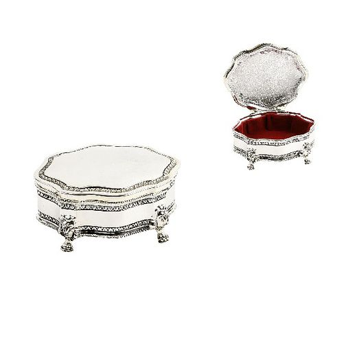 Special Memories Antique Silver Style Trinket Box - Product number 9034307