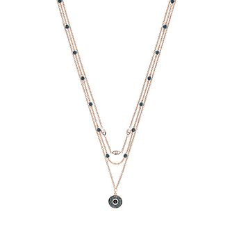 Emporio Armani Ladies' Rose Gold Tone Layered Necklace - Product number 9040684