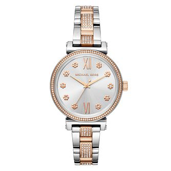 Michael Kors Sofie Mini Silver Bracelet Watch - Product number 9040781