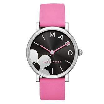Marc Jacobs Daisy Ladies' Floral Pink Strap Watch - Product number 9047352