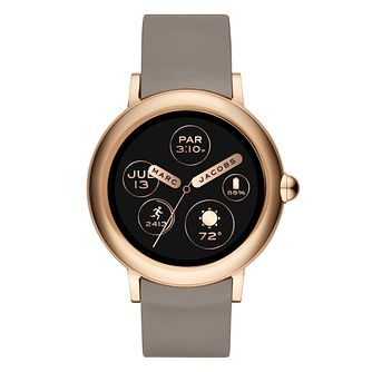 Marc Jacobs Riley Touchscreen Rose Gold Tone Smartwatch - Product number 9047603