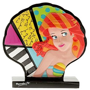 Disney Britto Ariel Shell Icon Figurine - Product number 9047670