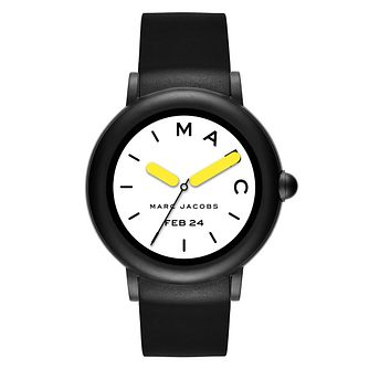 Marc Jacobs Riley Ladies' Touchscreen Black Smartwatch - Product number 9047697