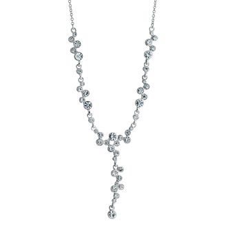 Bezel Set Crystal Necklace - Product number 9058516