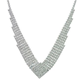 Crystal Statement Necklace - Product number 9058605