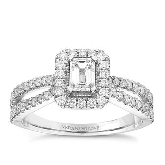 Vera Wang Platinum 0.95ct Diamond Ring - Product number 9080511
