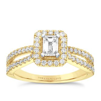 Vera Wang 18ct Yellow Gold 0.95ct Diamond Ring - Product number 9081003