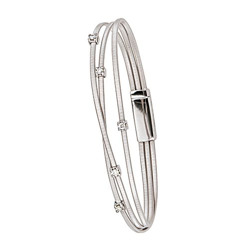 Marco Bicego 18ct white gold diamond bracelet - Product number 9095780