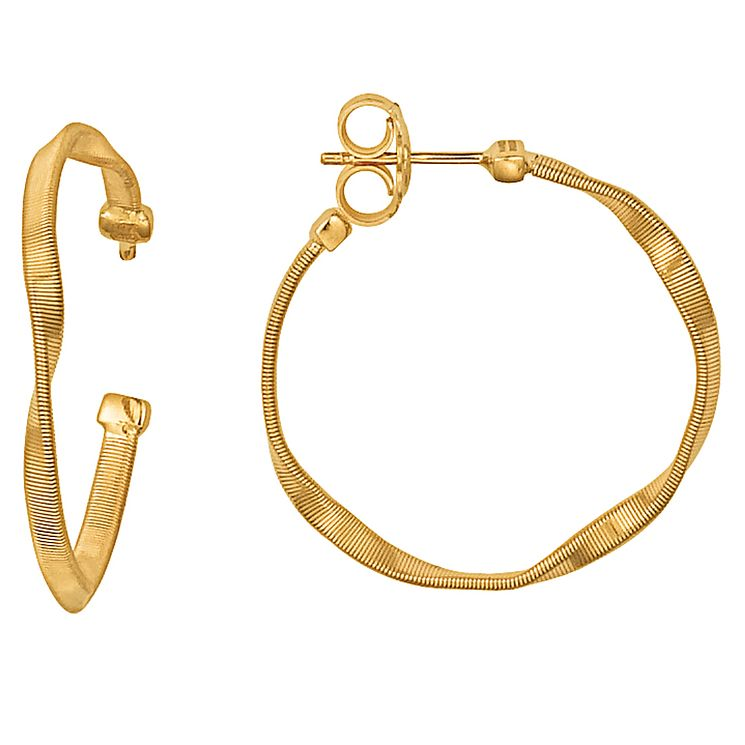 Marco Bicego 18ct yellow gold hoop earrings - Product number 9096167