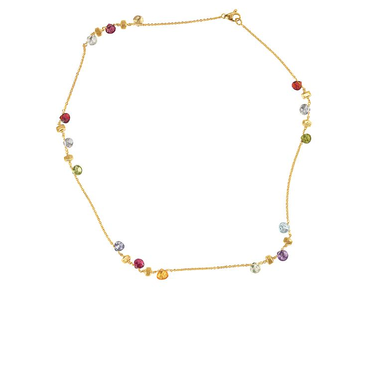 Marco Bicego 18ct yellow gold multi stone necklace - Product number 9096221