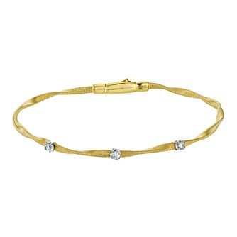 Marco Bicego 18ct yellow gold & diamond bracelet - Product number 9099484