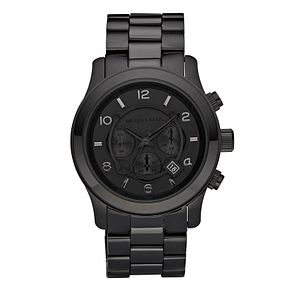 Michael Kors Men's Black Ion Plated Bracelet Watch - Product number 9100725