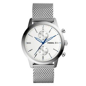 Fossil Men's Stainless Steel Mesh Bracelet Watch - Product number 9103333
