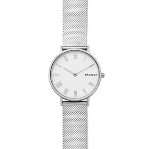 Skagen Hald Ladies' Silver Mesh Strap Watch - Product number 9103619