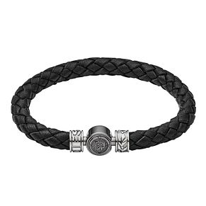 Diesel Men's Black Leather Bracelet - Product number 9105182