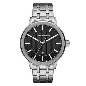 Armani Exchange Men's Silver Tone Bracelet Watch - Product number 9105654