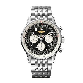 Breitling Navitimer 01 men's stainless steel bracelet watch - Product number 9112839