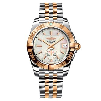 Breitling Galactic Ladies' Two Colour Mother of Pearl Watch - Product number 9112871