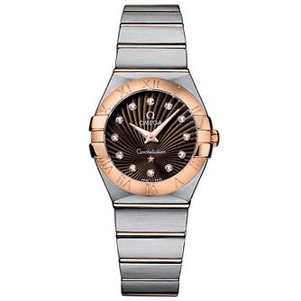 Omega Constellation Quartz 27mm Ladies' Bracelet Watch - Product number 9118055