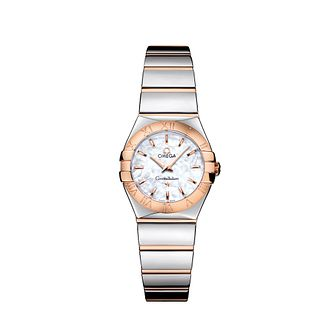 Omega Constellation Quartz ladies' bracelet watch - Product number 9118292