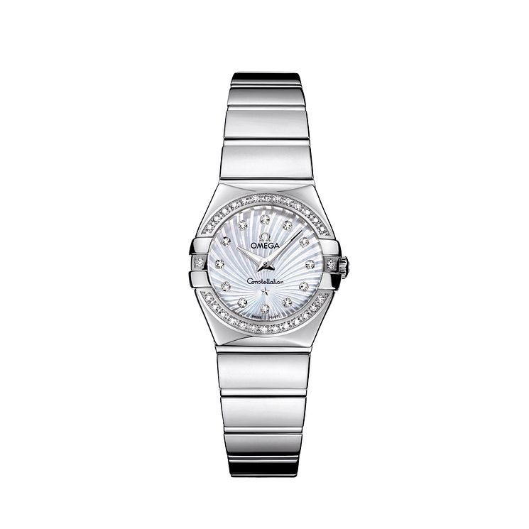 Omega Constellation Quartz ladies' bracelet watch - Product number 9118306