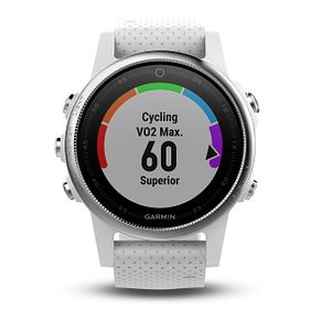 Garmin Fenix 5S White Silicone Strap Smartwatch - Product number 9176012