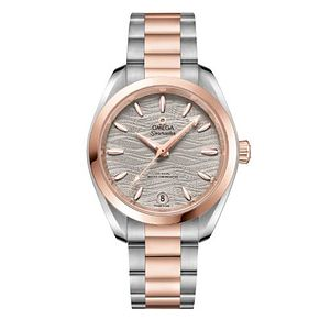 Omega Seamaster Aqua Terra Ladies' Two-Tone Bracelet Watch - Product number 9176500