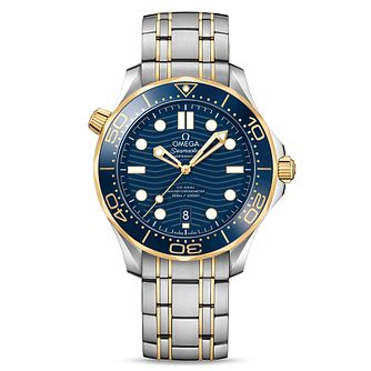 Omega Seamaster Diver Men's Stainless Steel Bracelet Watch - Product number 9177159