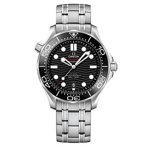 Omega Men's Seamaster Stainless Steel Bracelet Watch - Product number 9178066