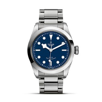 Tudor Black Bay Men's Blue Dial Bracelet Watch - Product number 9192778