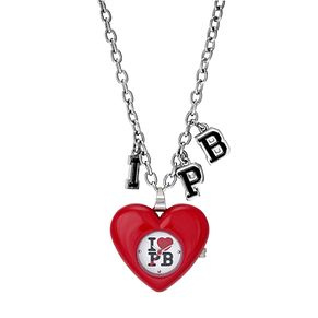Paul's Boutique Trixie Stainless Steel Heart Pendant Watch - Product number 9204903